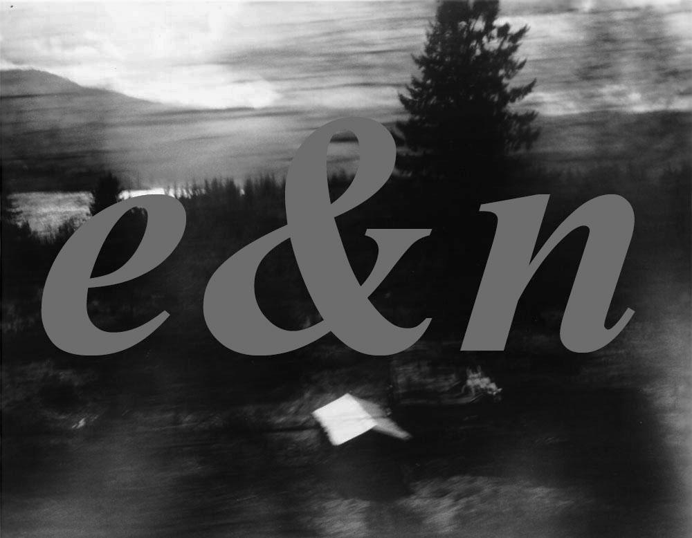 logo E & N shed & forest Feb 1990 logo Gordon Brent Ingram