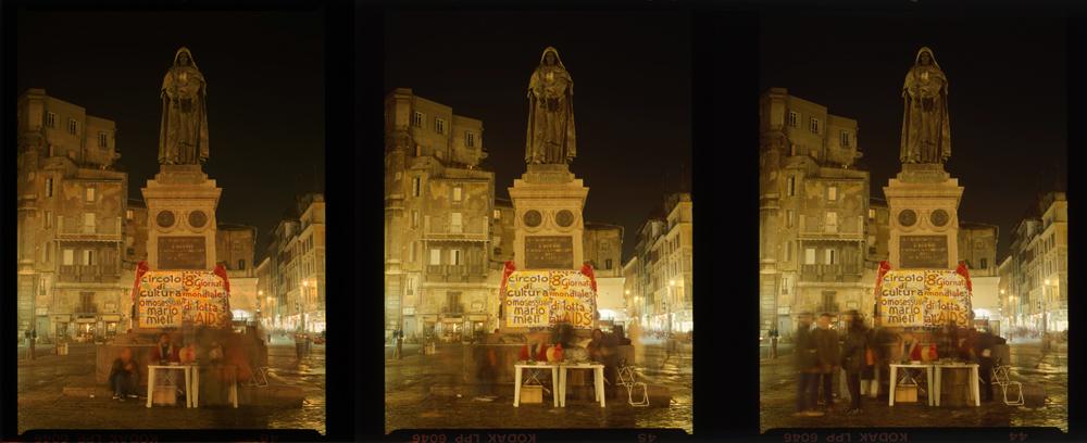 Campo dei Fiori - Roma dicembre 1995 #1  Gordon Brent Ingram