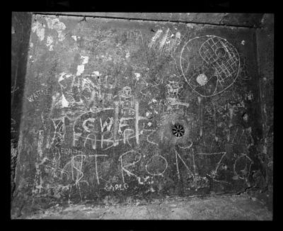 STRONZO vincino Arco dei Banchi Roma Agosto 1985 Gordon Brent Ingram