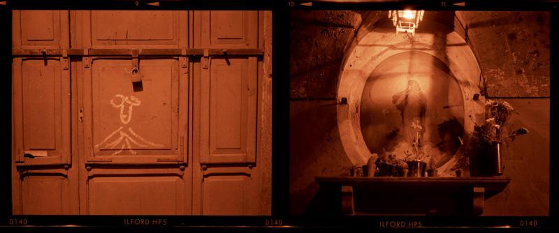 vicino Arco dei Banchi Roma Aprile 1990 Gordon Brent Ingram