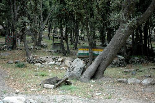 Golkhan graveyard, 12 August, 2006, photo by Gordon Brent Ingram