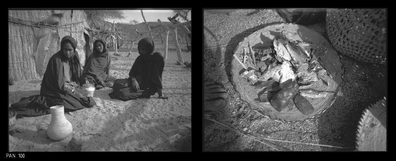 herb sellers - Egharghar - Bagzane Plateau - Air Mtns Nov 1986 (8) Gordon Brent Ingram