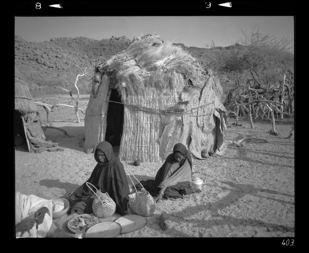 herb sellers - Egharghar - Bagzane Plateau - Air Mtns Nov 1986 Gordon Brent Ingram