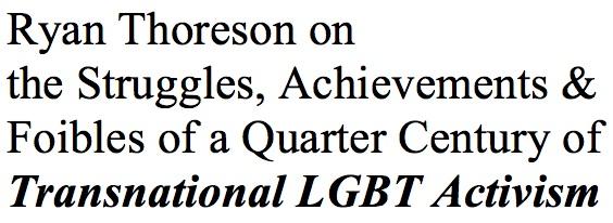 Transnational LGBT Activism