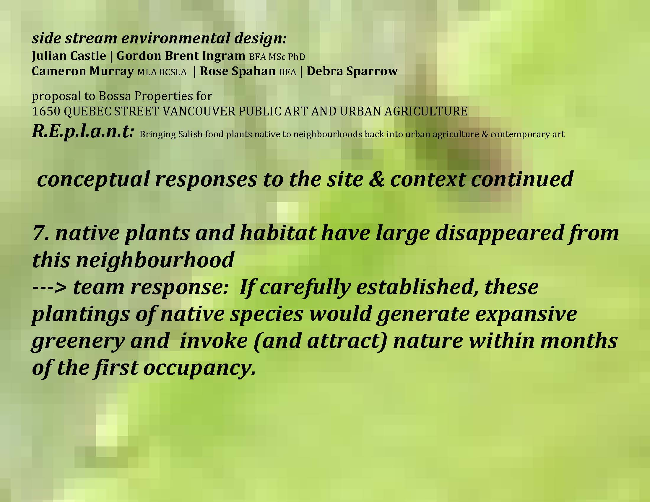 gordon brent brochu-ingram › environmental planning and design